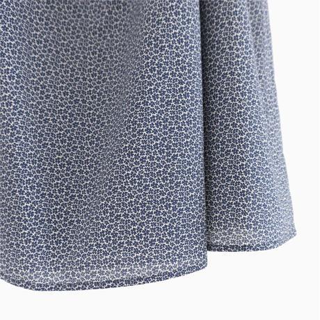 207508 小花柄プリントギャザースカート