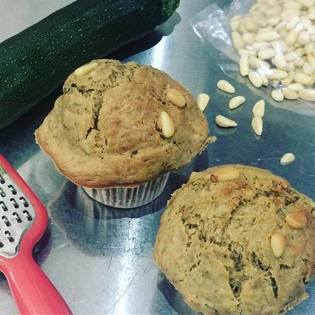 ズッキーニブレッドマフィン Zucchini bread muffin vegan