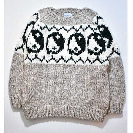 Black Weirdos / Yin Yang Knit (Gray)