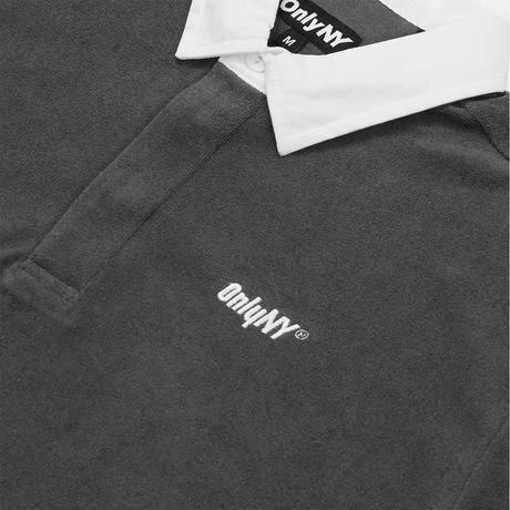Only NY / Court Terry Cloth Polo Shirt (Charcoal)