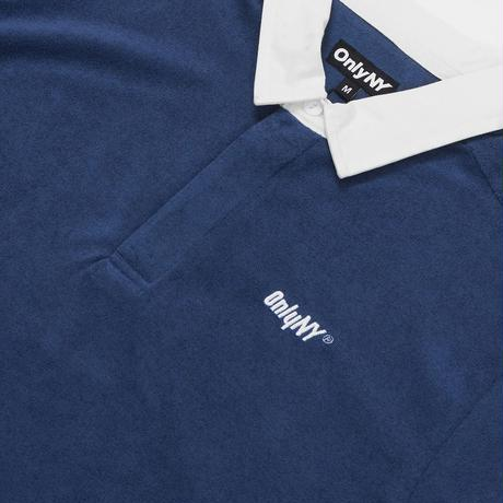 Only NY / Court Terry Cloth Polo Shirt (Navy)