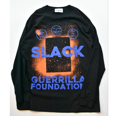 Black Weirdos / SLACK L/S Tee(BLACK)