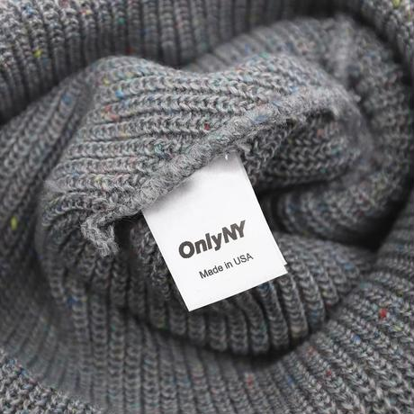 Only NY / Lodge Beanie(Speckled Grey)