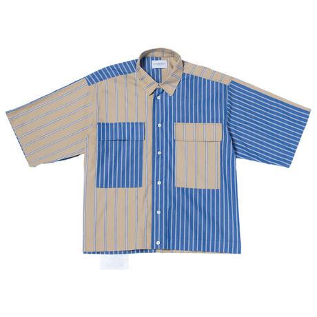 Black Weirdos / Crazy Big Pocket Shirt (BLUE)