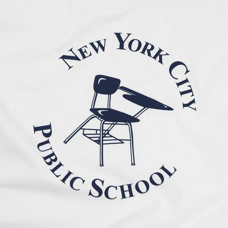 Only NY / NYC Public School T-Shirt(White)
