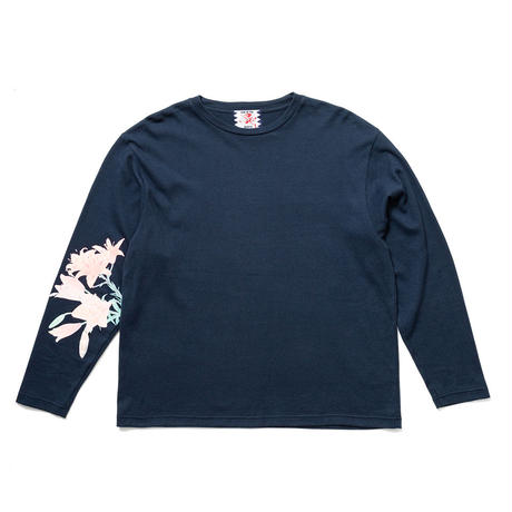 SON OF THE CHEESE / Lily LS Tee(NAVY)