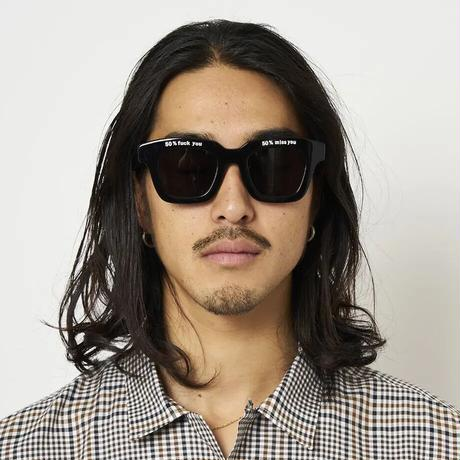 SON OF THE CHEESE / 50% Glasses (BLACK)