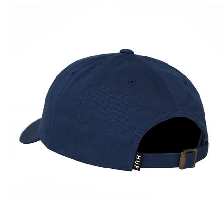 HUF / ESSENCIALS OG LOGO CURVED VISOR HAT(INSIGNIA BLUE)