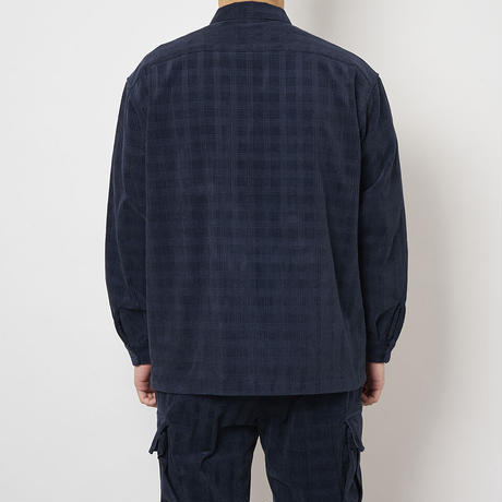 SON OF THE CHEESE / Cross Cord Shirt (NAVY)