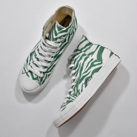 Black Weirdos / Crazy Zebra Sneaker-HI (GREEN)