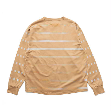 SON OF THE CHEESE / REF Border Tee(BEIGE)