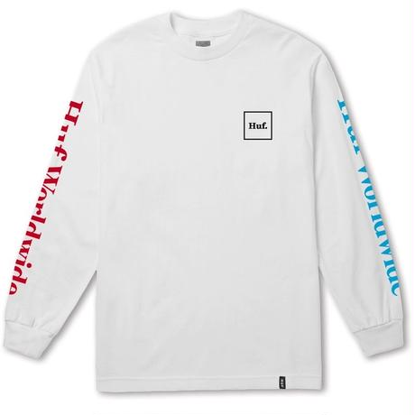 DOMESTIC MULTI L/S TEE (WHITE)