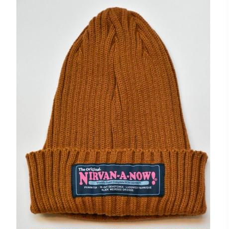 Black Weirdos / Guerilla Knit Cap(BROWN)