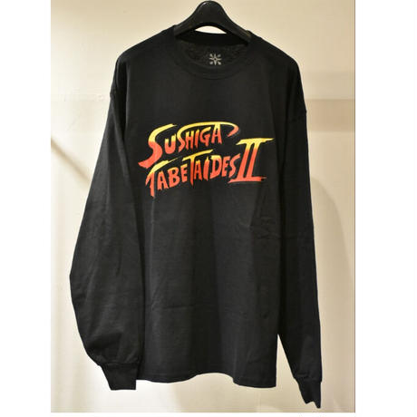 TACORIDE / SUSHI 2 LONGSLEEVE TEE (BLACK / RED)