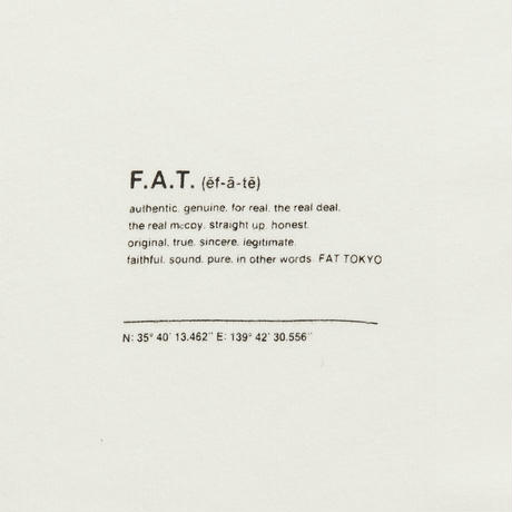 FAT / LOSTOW  (WHITE)