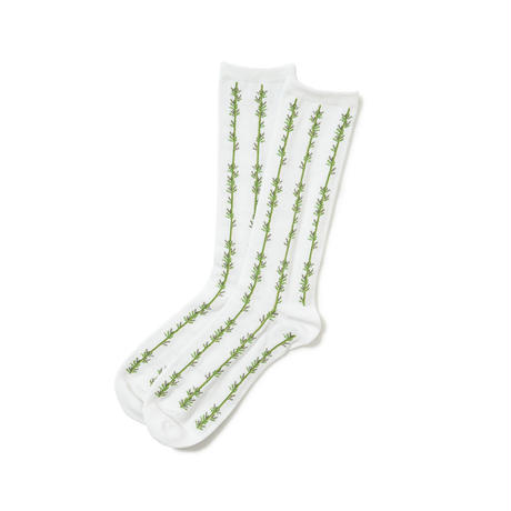 SON OF THE CHEESE / Bamboo SOX(WHITE)