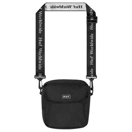 HUF / TOMPKINS SHOULDER BAG BLACK
