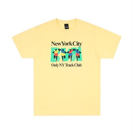 Only NY / TRACK CLUB T-SHIRT(Squash)