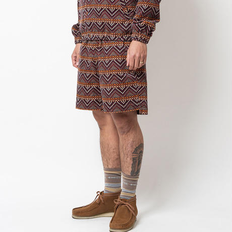 SON OF THE CHEESE / AFRICAN ShortPants(BROWN)