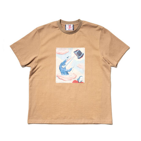 SON OF THE CHEESE / Fantom Wig RAY TEE(BEIGE)