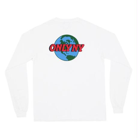 Only NY / Planet Pocket L/S T-Shirt (White)