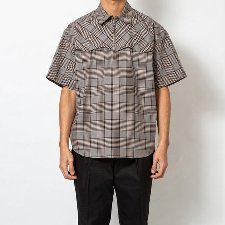 SON OF THE CHEESE / Western SS Shirt(GRAY)