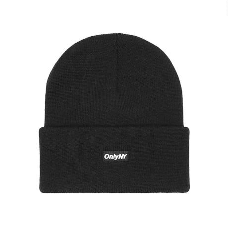 Only NY / Block Logo Beanie(Black)