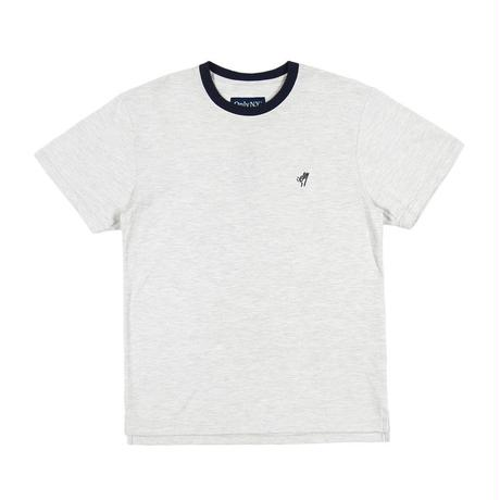 Only NY / OK PIQUE T-SHIRT(Ash)