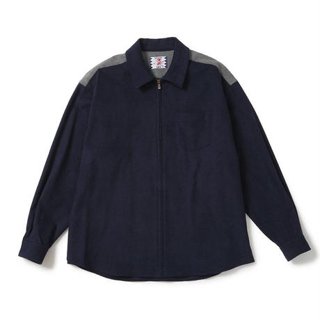 SON OF THE CHEESE / Check Cody Shirt ( NAVY )