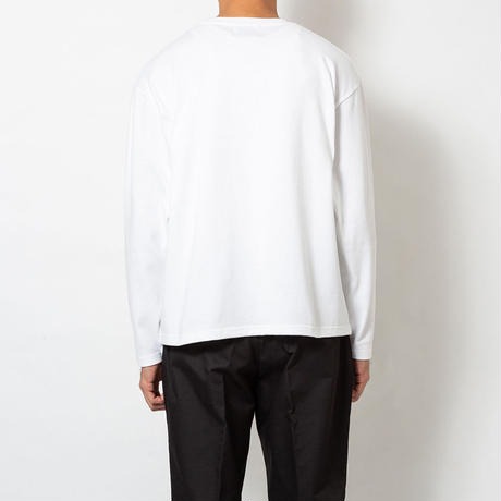 SON OF THE CHEESE / Fantom Wig LS TEE(WHITE)