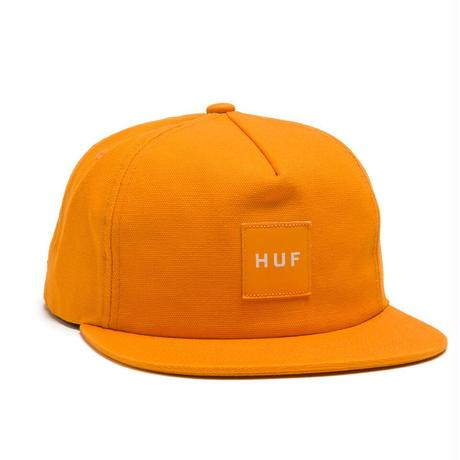 HUF / WASH CANVAS BOX LOGO SNAPBACK / GOLD