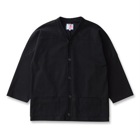 SON OF THE CHEESE / Hockey cardigan  (BLACK)