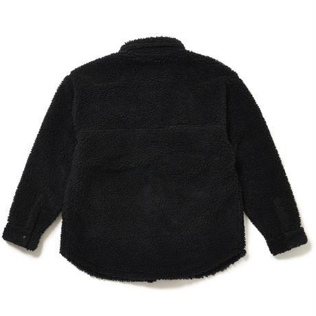 SON OF THE CHEESE / Fleece CPO (BLACK)