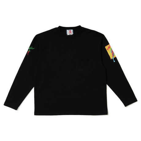 SON OF THE CHEESE / Chili LS TEE (BLACK)