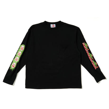 SON OF THE CHEESE / Drag LS TEE (BLACK)
