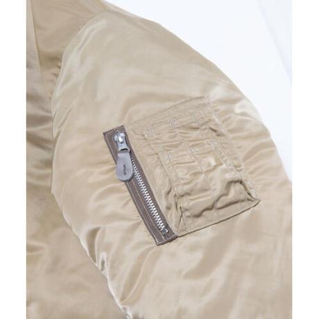 Black Weirdos / MA-1 Flight Jacket ( Khaki )
