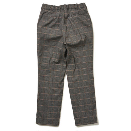 SON OF THE CHEESE / MJK W PANTS (ORANGE PLAID)
