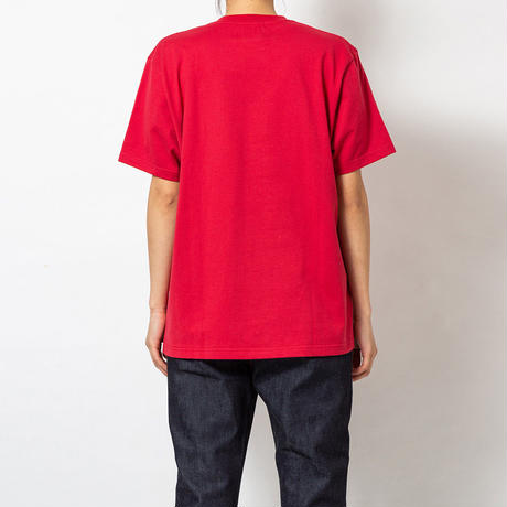 SON OF THE CHEESE / Fantom Wig TEE(RED)
