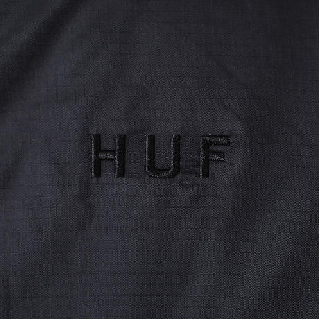 HUF / KUMO REVERSIBLE 1/4 ZIP JACKET (BLACK)