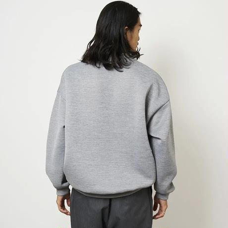 SON OF THE CHEESE / High neck Crew (GRAY)