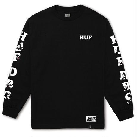 HUF / FELIX HUF DBC L/S TEE (BLACK)