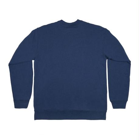 Only NY / Collegiate Crew Sweatshirt (Deep Blue)