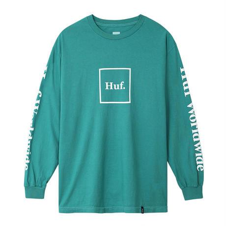 HUF  / DOMESTIC L/S TEE (THE DEEP JUNGLE)