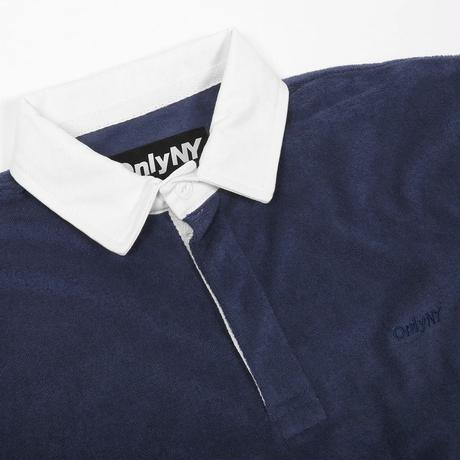 Only NY / Terry Cloth Polo L/S Shirt (Navy)