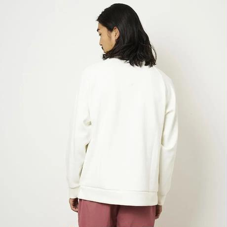 SON OF THE CHEESE / High neck Crew (WHITE)