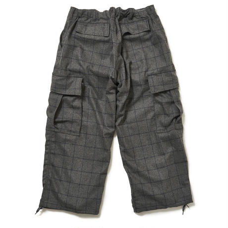 SON OF THE CHEESE / Fatigue Pants (GRAY)