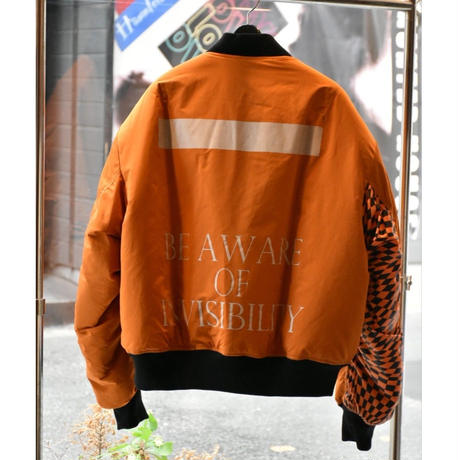 Black Weirdos / L-2A Flight Jacket (ORANGE)
