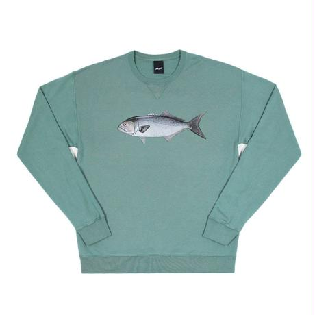 Only NY / Bluefish Crewneck (Sage)