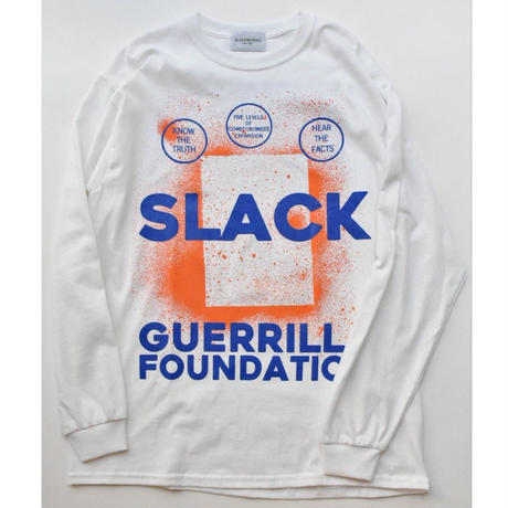 Black Weirdos / SLACK L/S Tee(WHITE)