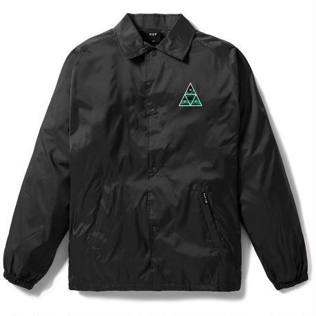 HUF / DIMENSIONS COACHES JACKET (BLACK)